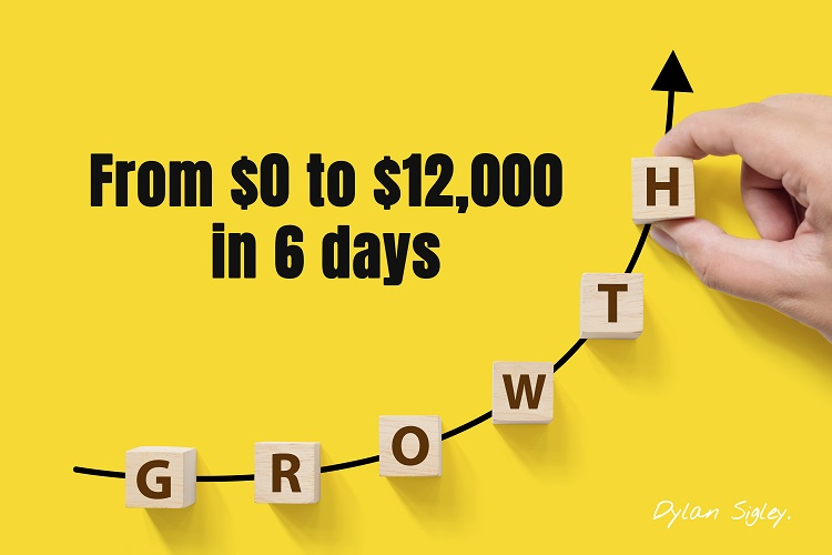 How Dylan Sigley went from $0 to $12,000 in 6 days Drop Servicing